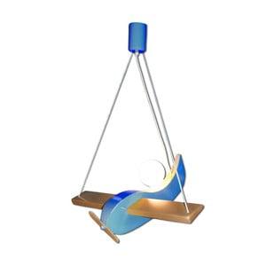 Závěsné světlo Blue Gliders