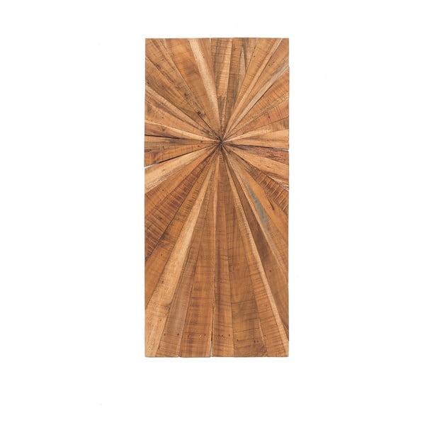 Dřevěná nástěnná dekorace WOOX LIVING Sun, 100x45cm