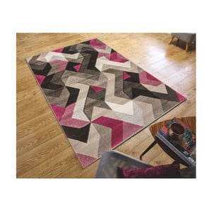 Koberec Flair Rugs Aurora Grey Purple, 160 x 230 cm