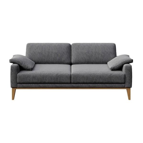 Canapea cu 2 locuri MESONICA Musso, cenușiu