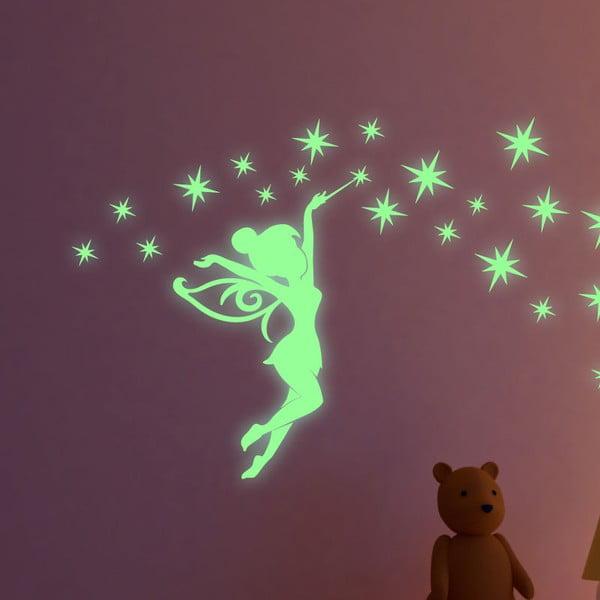 Set autocolante fosforescente Ambiance Fairytale