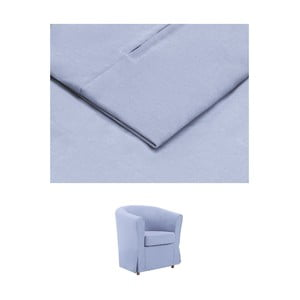 Modrý povlak na křeslo THE CLASSIC LIVING Casper