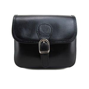 Černá kabelka z pravé kůže GIANRO' Shoppa