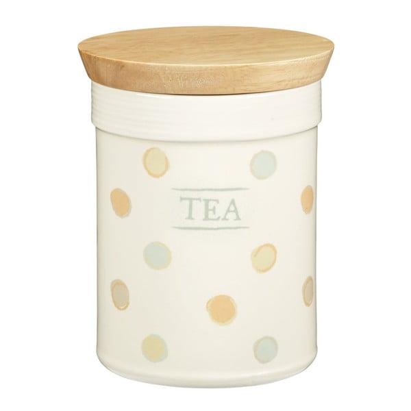 Puntíkatá dóza na čaj Classic Dots