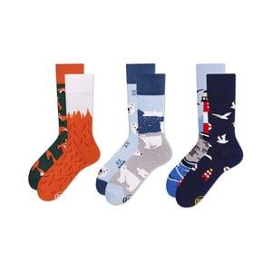 Sada 3 párů ponožek Many Mornings Nature, vel. 43-46