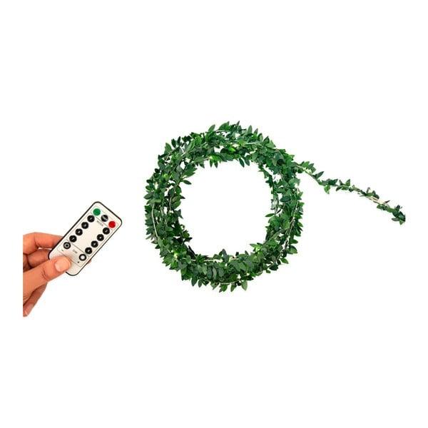 Zelený světelný řetěz Kikkerland Tree