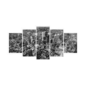 Vícedílný obraz Black&White no. 40, 100x50 cm