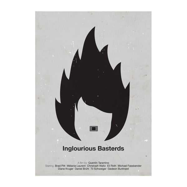 Plakát Inglorious bastards, 29,7x42 cm, limitovaná edice