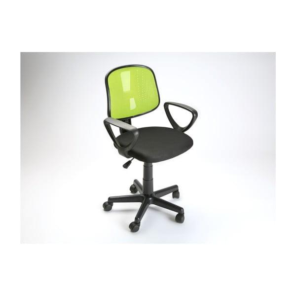 Zelená kancelářská židle na kolečkách Versa Office