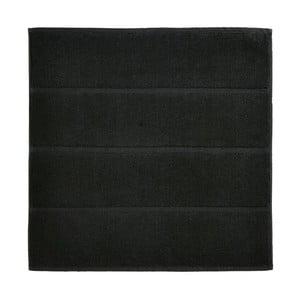 Černá koupelnová předložka Aquanova Adagio, 60x60 cm
