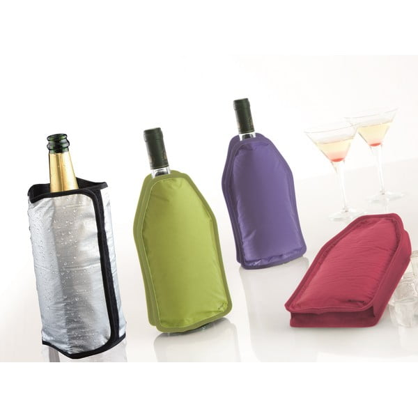 Cestovní chladič na víno Bouteille, fuchsiový