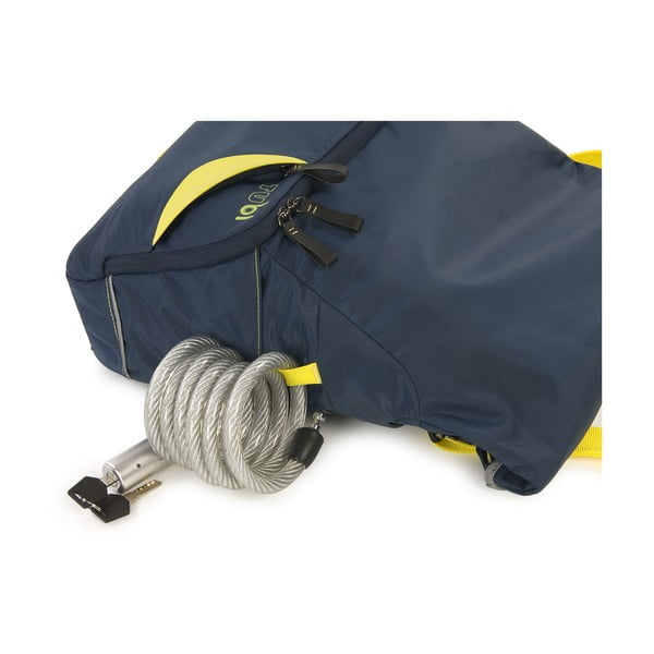 Messenger taška TUbí, modrá/žlutá