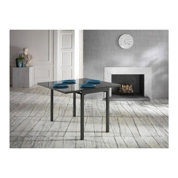 Tmavě šedý stůl Design Twist Nadi
