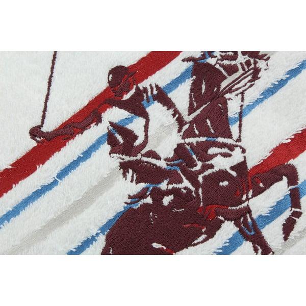 Bílo-růžový bavlněný ručník BHPC Velvet, 50x100 cm