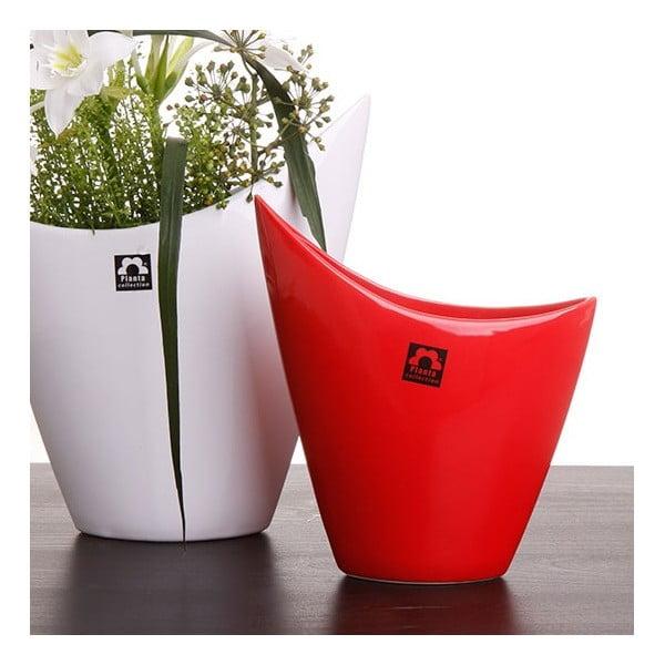 Váza Cher 26 cm, červená