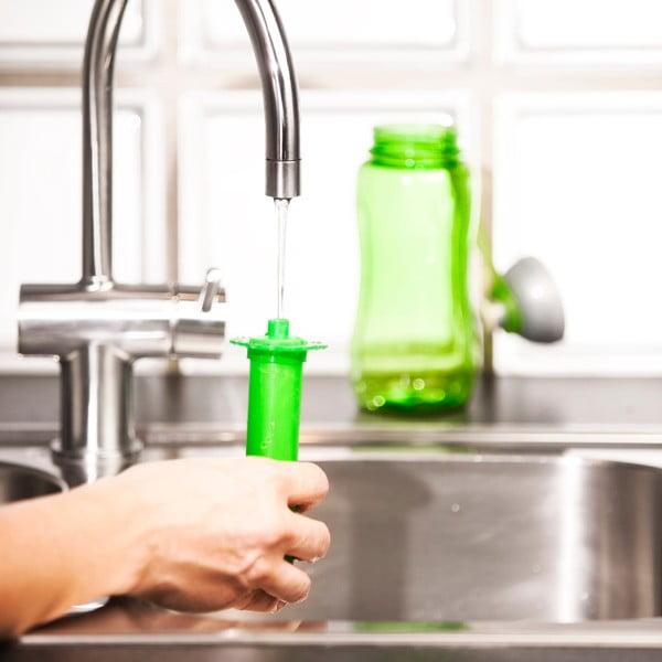 Zelená samochladící lahev Sagaform