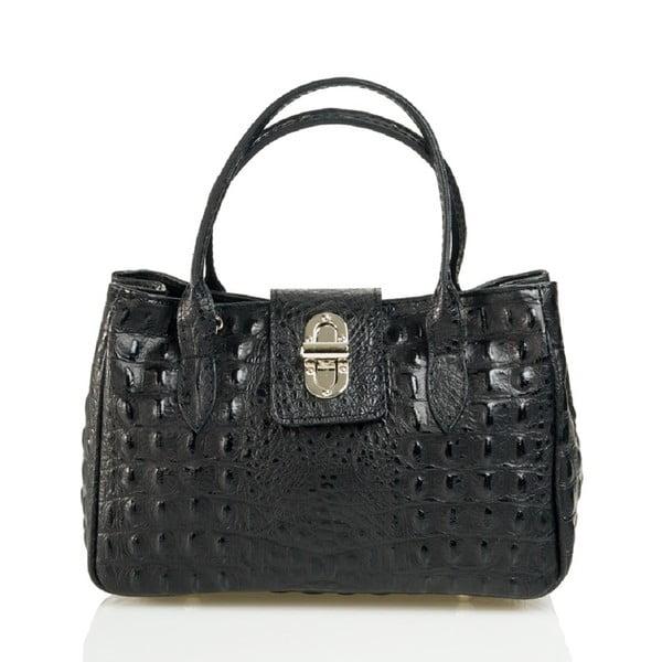Kožená kabelka Laura, černá