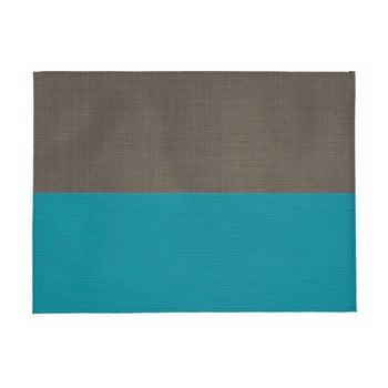 Suport pentru farfurie Tiseco Home Studio Stripe, 33x45cm, bej - albastru imagine