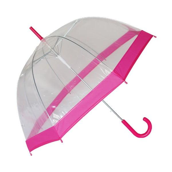 Deštník Smatisa Rose Transparent