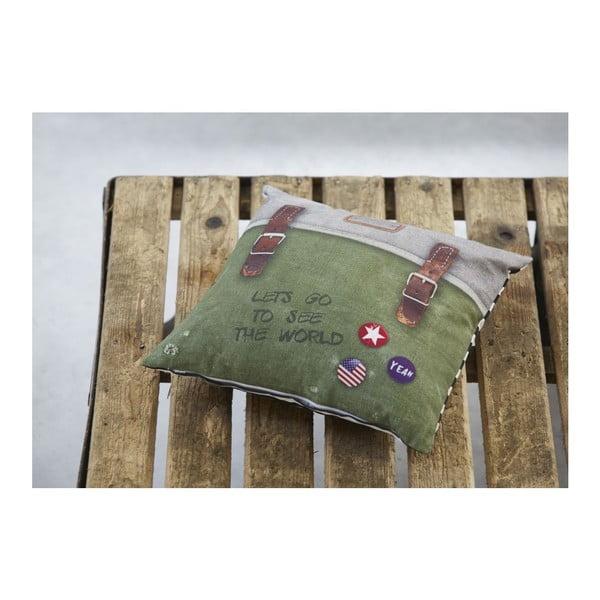 Povlak na polštář COVERS & CO Backpack Green, 40x40 cm