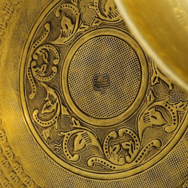 Sada 2 táců ve zlaté barvě Denzzo Joachim