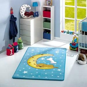 Dětský koberec Moon Blue, 133x190 cm