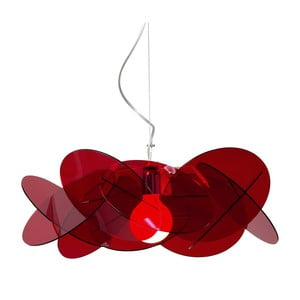 Závěsné svítidlo Bea Maxi Emporium, červené