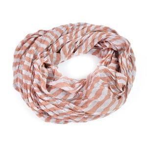 Šátek Stripes Pink