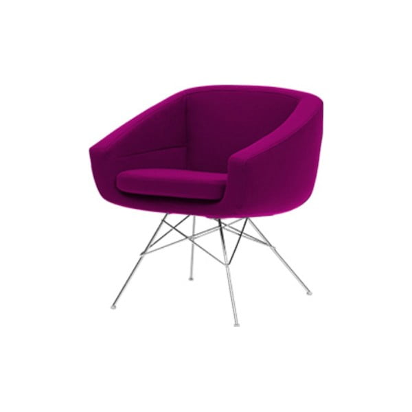 Aiko Felt Violet lila fotel - Softline