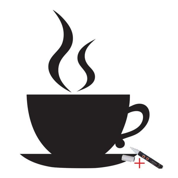 Set popisovací samolepky a fixu Ambiance Coffee