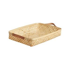Bambusový úložný košík OYOY Sporta, 6 x 28 cm
