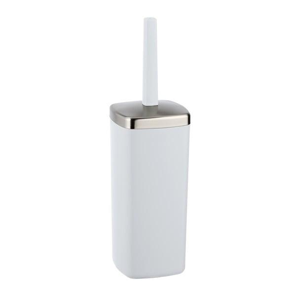 Bílý WC kartáč Wenko Barcelona