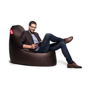 Hnědý sedací sedací vak Tuli SuperModel