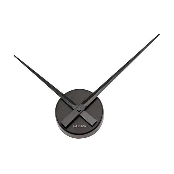 Ceas de perete Present Time Mini, negru