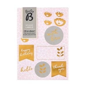 Štítky Busy B Pinky Labels