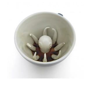 Hrnek Octopus, 445 ml, světle modrý