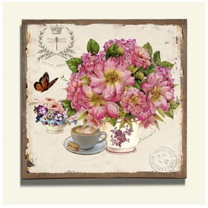 Nástěnná dekorace Royal Garden, 2 ks