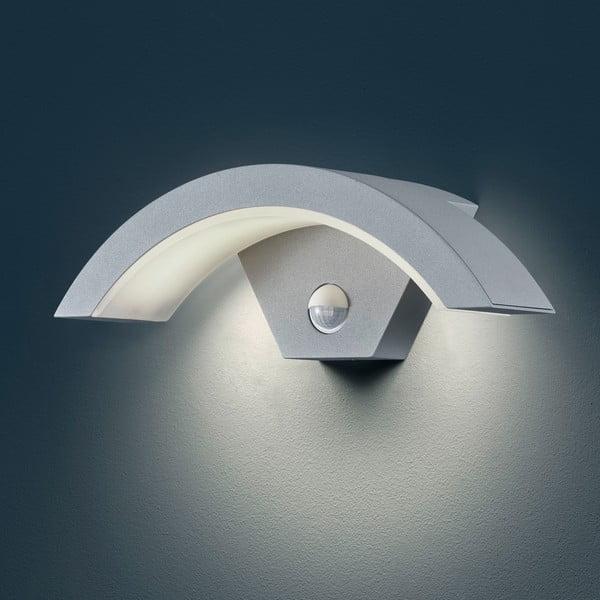 Venkovní nástěnné světlo s pohybovým čidlem Ohio Titanium, 30 cm