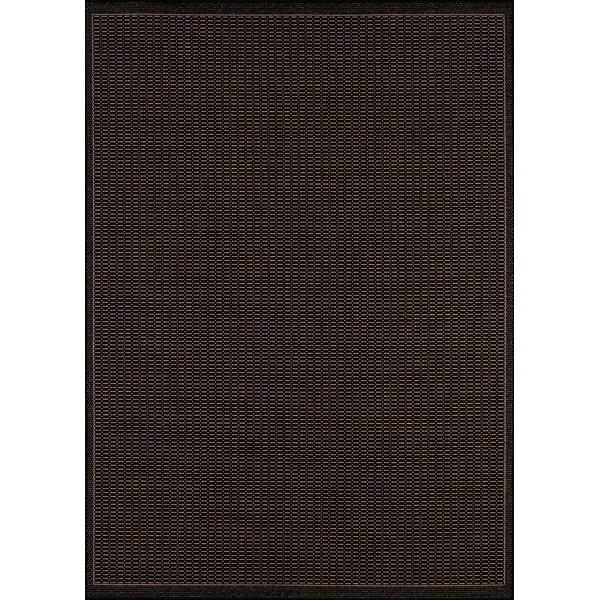 Černý venkovní koberec Floorita Tatami, 180 x 280 cm