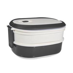 Cutie pentru gustare Jocca Lunchbox, alb - gri