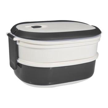 Cutie pentru gustare JOCCA Lunchbox, alb - gri imagine