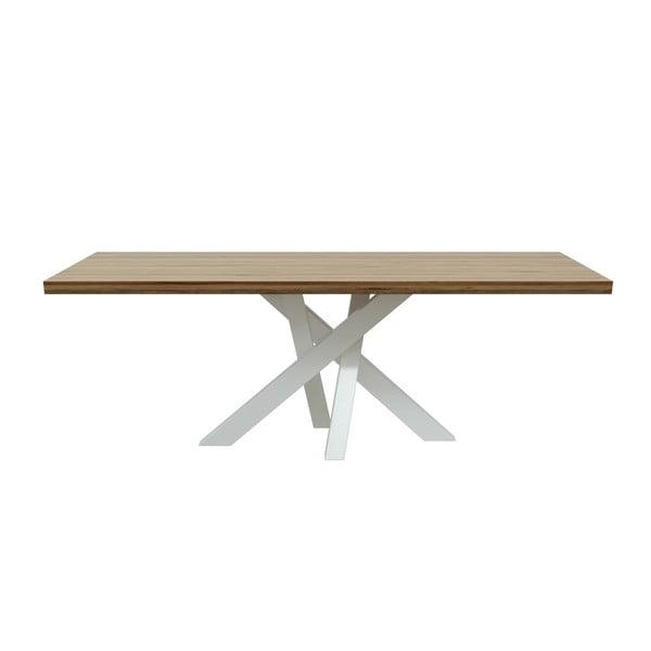 Jedálenský stôl z orechového dreva MESONICA Brook, 100×220 cm