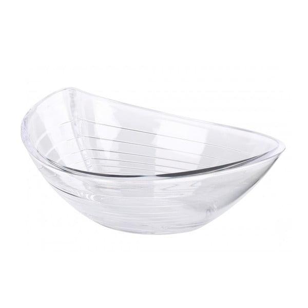 Salátová miska Contour Clear