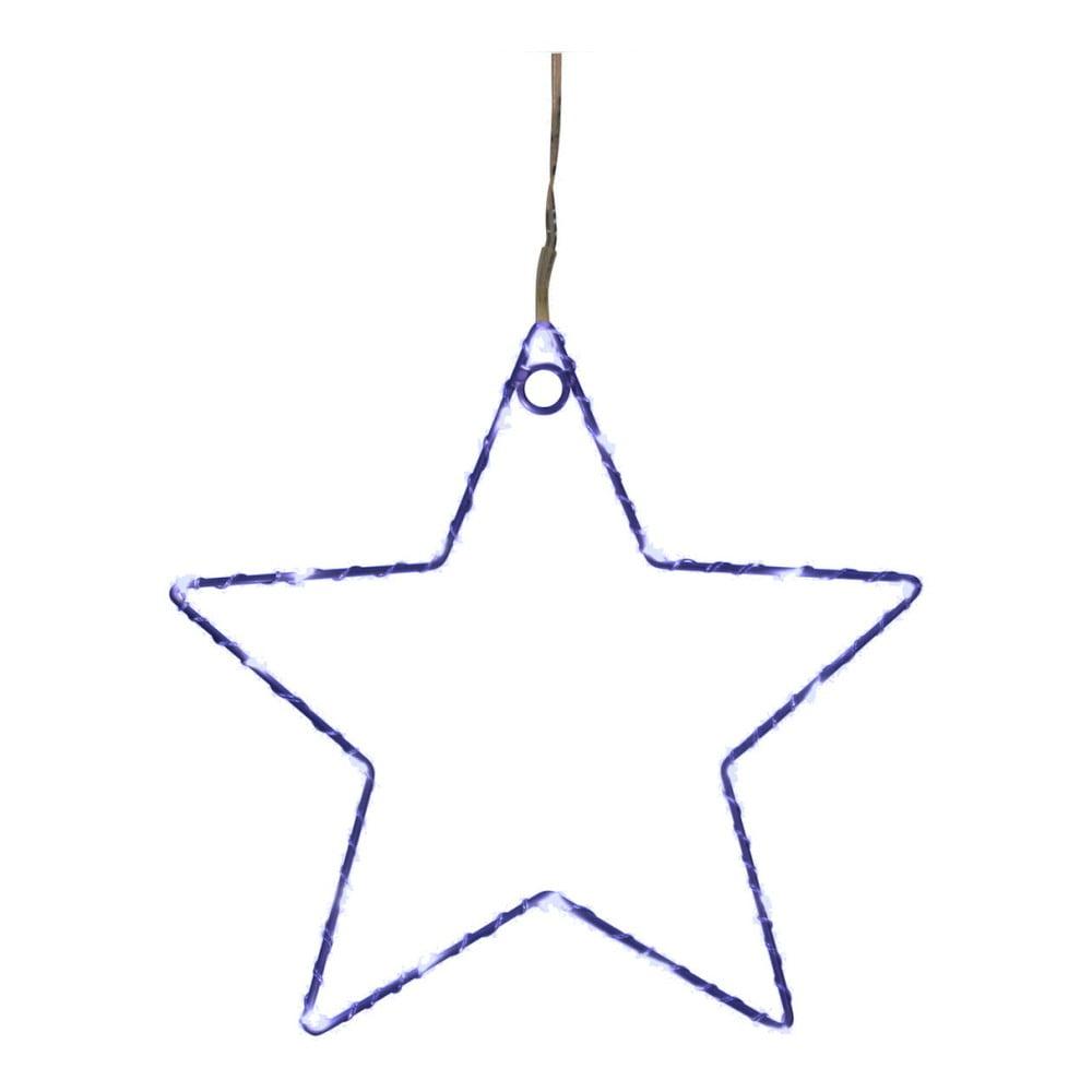 Modrá nástěnná světelná LED dekorace Opjet Paris Star