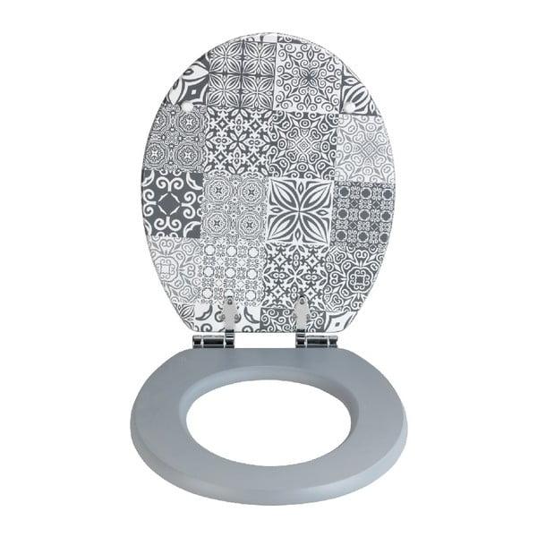 WC sedátko z dřevovláknité desky Wenko Portugal, 44 x 37,5 cm