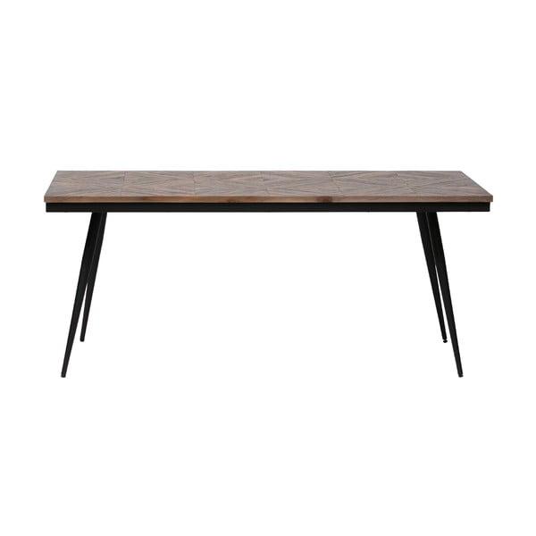 Masă din lemn de salcâm BePureHome Rhombic, 180 x 90 cm
