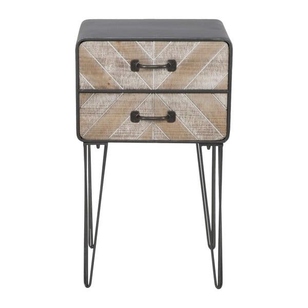 Nocny stolik z 2 szufladami Mauro Ferretti Oklahoma