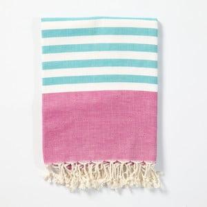 Hamam osuška z ručně tkané bavlny ZFK Hilmar, 170x100cm