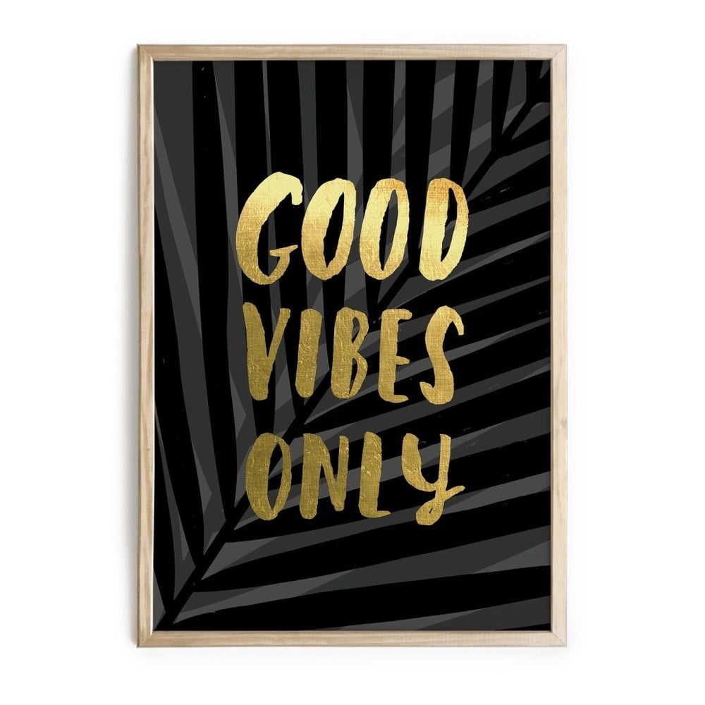 Obraz really nice things good vibes 40 x 60 cm bonami - Really nice things ...