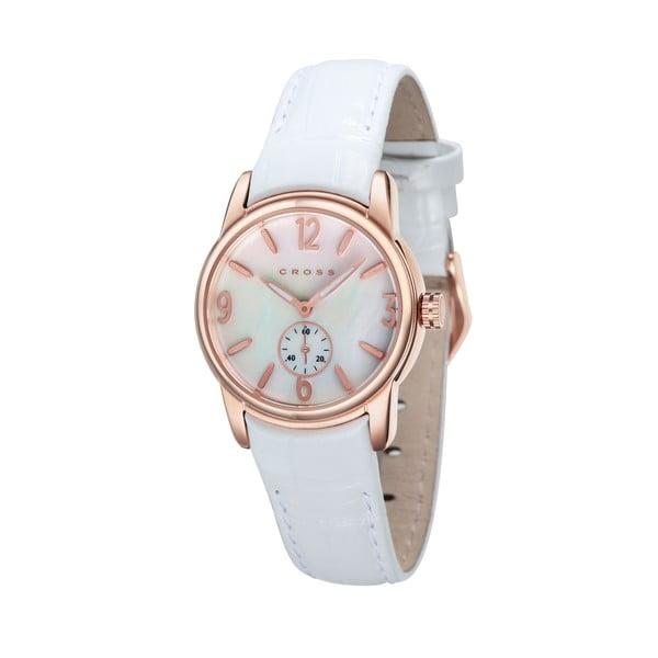 Dámské hodinky Cross Palatin White/White, 30 mm